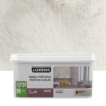 Peinture à effet, Sable précieux LUXENS, gris galet 6, 2 l