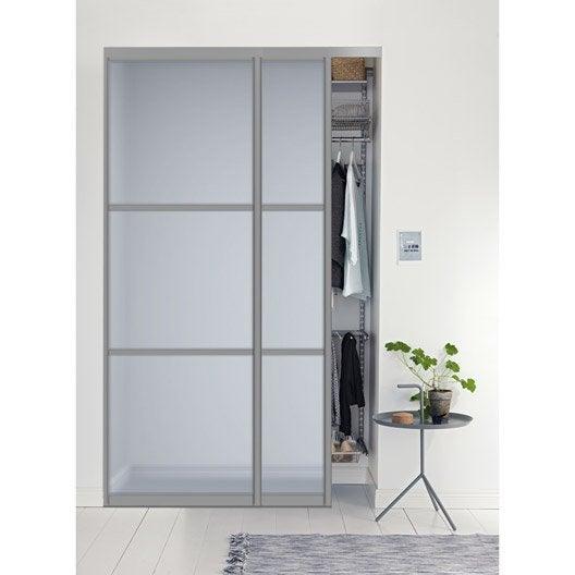 Placard Coulissant Sur Mesure Castorama Affordable Beautiful - Porte placard coulissante et fabricant de porte intérieure sur mesure