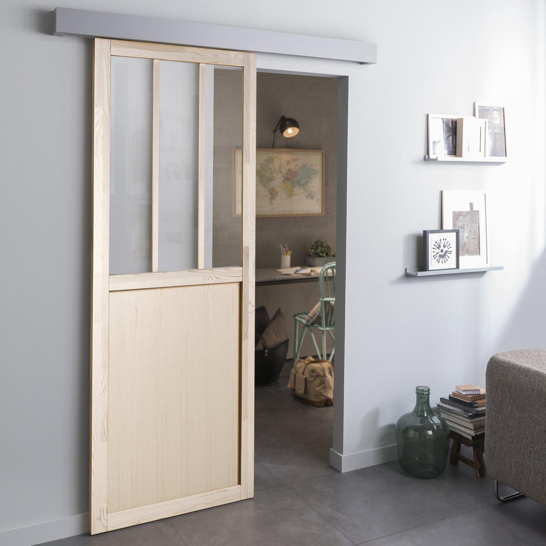 porte intérieur version atelier d'artiste  leroy merlin