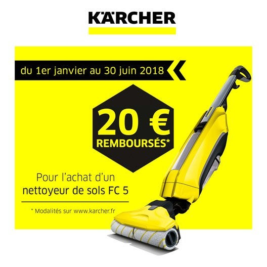 kit de nettoyage pour sols karcher fc5 premium 460 w leroy merlin. Black Bedroom Furniture Sets. Home Design Ideas