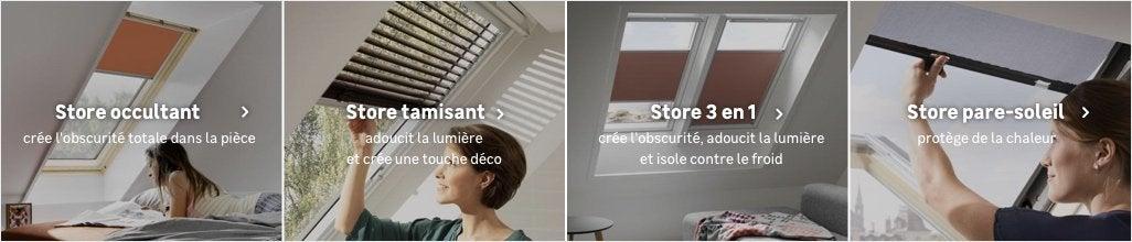 Store Velux Store Fenêtre De Toit Occulter Un Velux Au