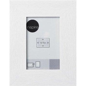 cadre bois inspire riviera 21 x 29 7 cm blanc ivoire n 5. Black Bedroom Furniture Sets. Home Design Ideas