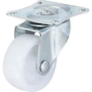 Roulette pivotante à platine, Diam.32 mm