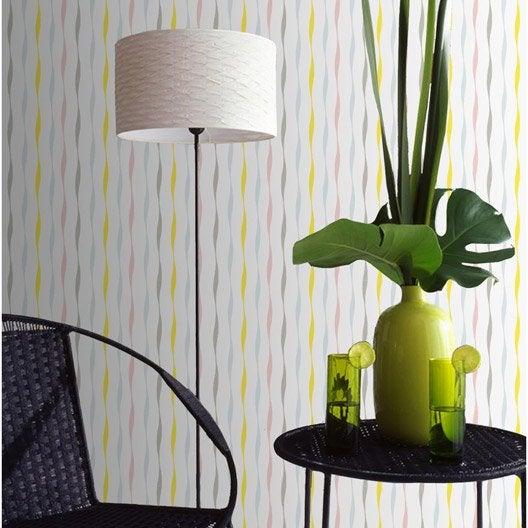 Papier peint vinyle expans sur intiss undira for Coller miroir sur papier peint