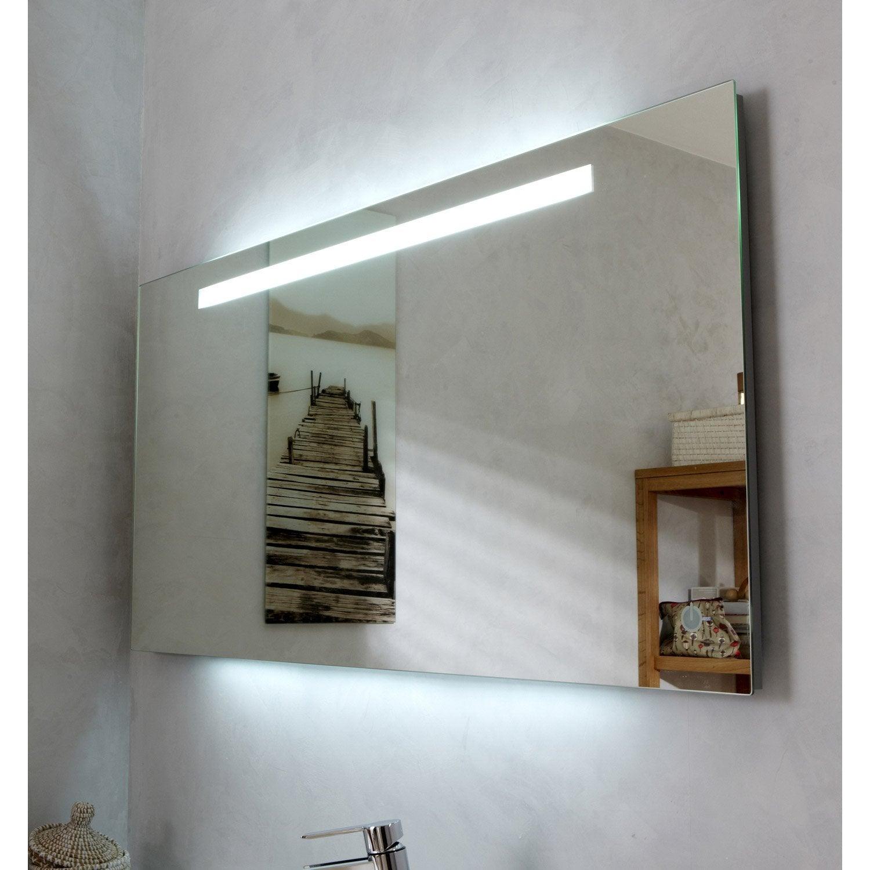 miroir lumineux eclairage integre l 120 x h 60 cm atria Résultat Supérieur 16 Impressionnant Miroir Grossissant Avec Lumiere Integree Pic 2017 Hzt6