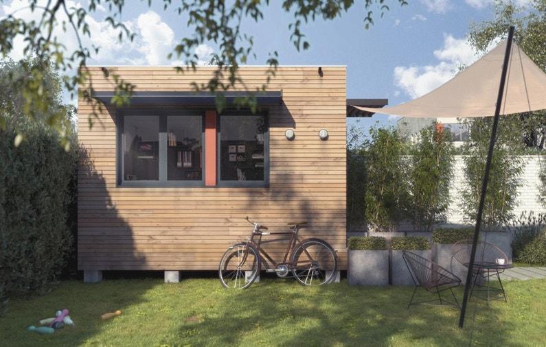 construire une annexe pour un bureau. Black Bedroom Furniture Sets. Home Design Ideas