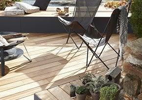 Votre terrasse sort du bois