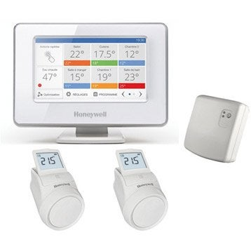 thermostat et programmateur de chauffage radiateur. Black Bedroom Furniture Sets. Home Design Ideas