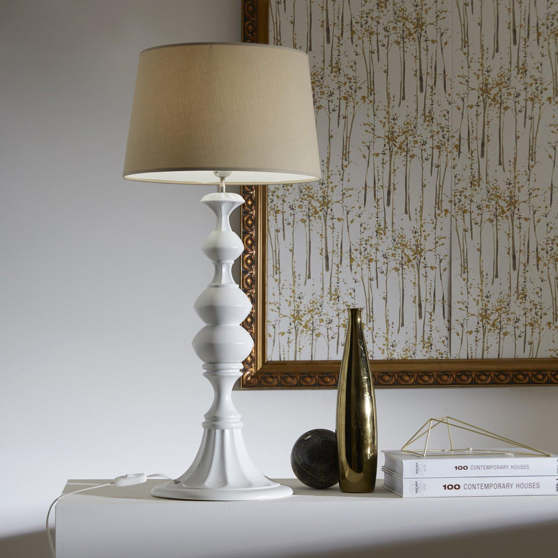 lampe poser au look naturelle leroy merlin. Black Bedroom Furniture Sets. Home Design Ideas