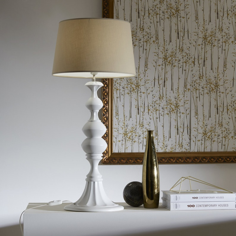 Lampe poser au look naturelle leroy merlin - Lampe a poser leroy merlin ...