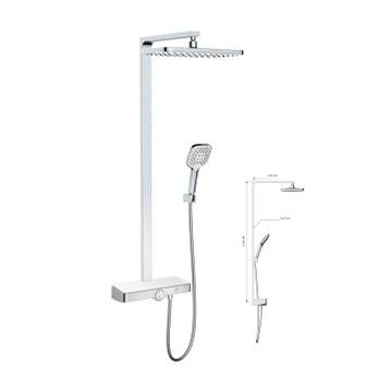 colonne de douche au meilleur prix leroy merlin. Black Bedroom Furniture Sets. Home Design Ideas
