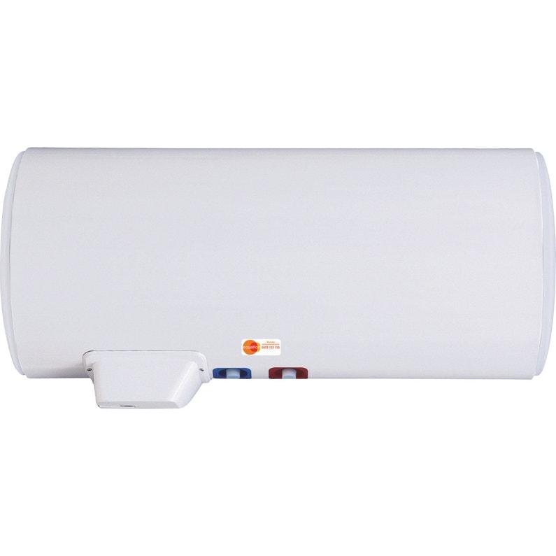 vente en ligne doux et léger Bons prix Chauffe-eau électrique horizontal mural EQUATION Titane electronique, 200 l