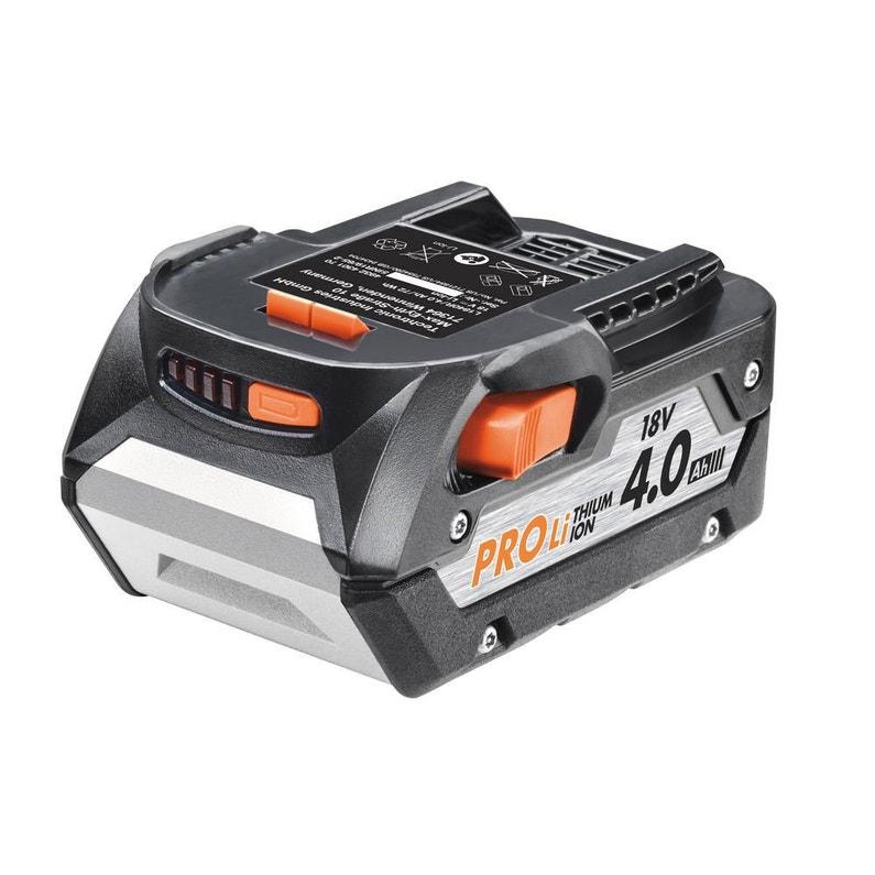 Pack Chargeur Batterie Lithium 18v 4ah Aeg