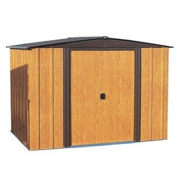 Abri de jardin en métal Woodlake 1012, 10.70 m², ép. 22 mm