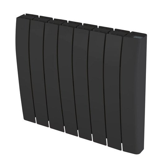 radiateur lectrique inertie pierre deltacalor sagoma 1500 w leroy merlin. Black Bedroom Furniture Sets. Home Design Ideas