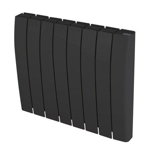 radiateur lectrique inertie pierre deltacalor sagoma 1500 w leroy merlin. Black Bedroom Furniture Sets. Home Design Ideas
