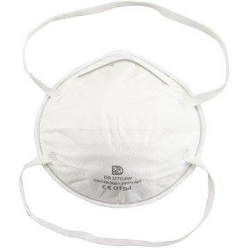 lot de 3 masques de protection respiratoire. Black Bedroom Furniture Sets. Home Design Ideas