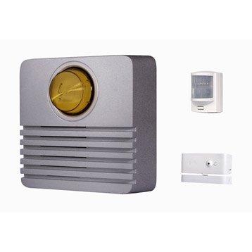Pack Protection plus pour alarme maison SOMFY gris métal