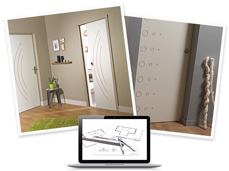 configurer mes portes int rieur chauvat leroy merlin. Black Bedroom Furniture Sets. Home Design Ideas