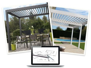 Bien choisir son garage ou son carport leroy merlin - Canvas voor pergola leroy merlin ...