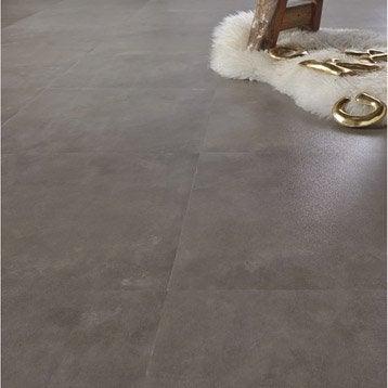 Dalle PVC adhésive ARTENS Concrete, 40.60 x 40.60 cm