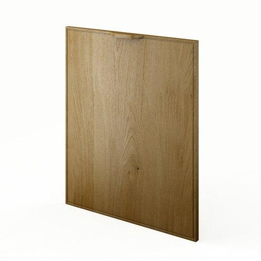 Porte de cuisine ch ne f60 origine l60 x h70 cm leroy for Porte 60 x 70