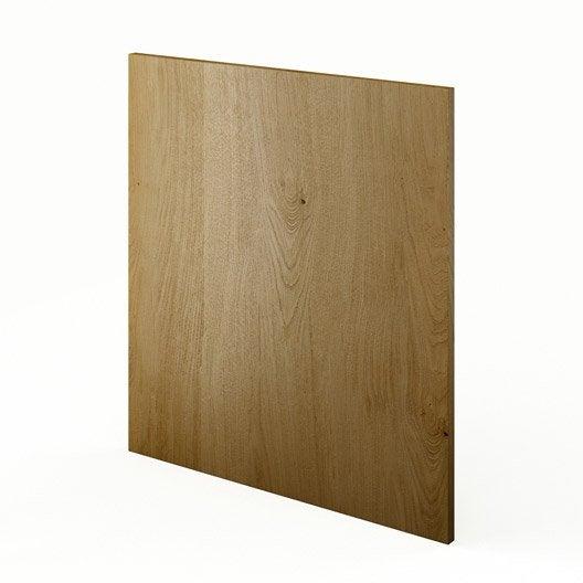 joue meuble bas de cuisine ch ne l65 origine l65 x h70 cm leroy merlin. Black Bedroom Furniture Sets. Home Design Ideas