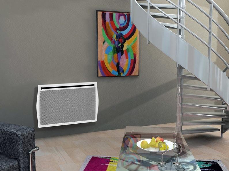 un radiateur lectrique rayonnement avec son syst me. Black Bedroom Furniture Sets. Home Design Ideas