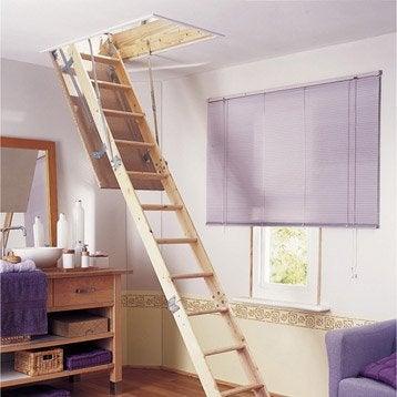 Pose et installation domicile leroy merlin - Pose escalier escamotable ...