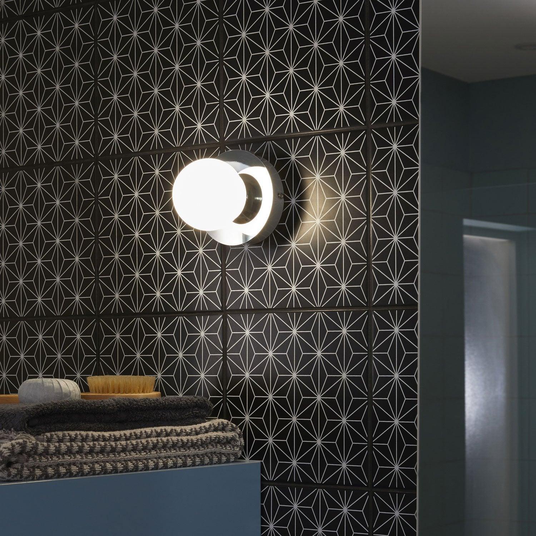 Applique Kapi, LED 1 x 5 W, LED intégrée blanc chaud, chrome