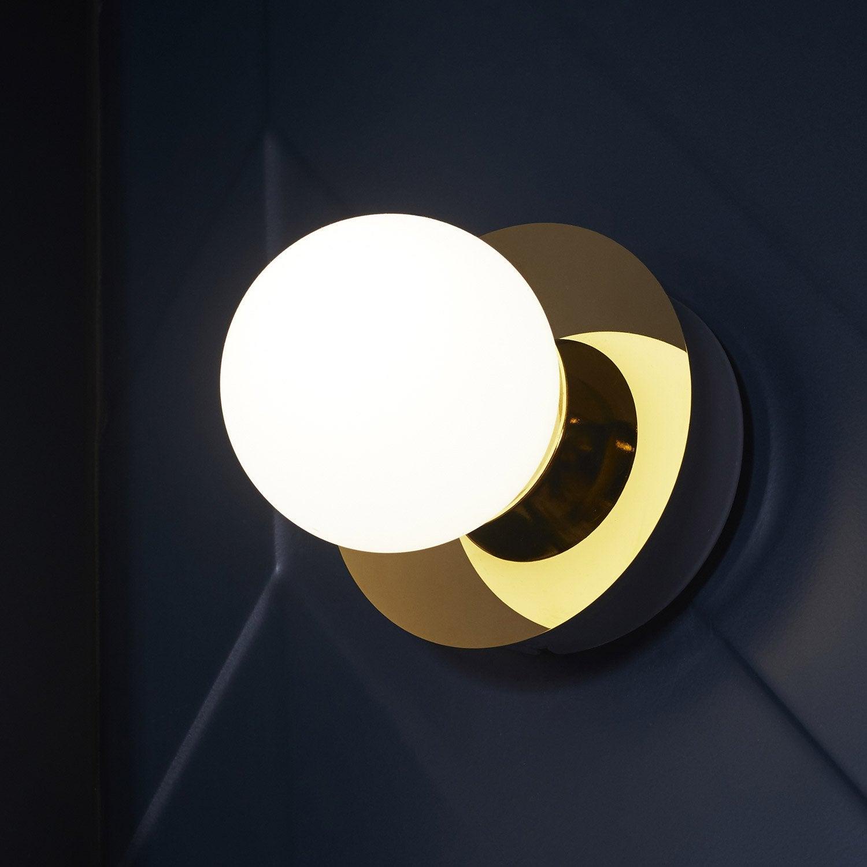 Applique Kapi, LED 1 x 5 W, LED intégrée blanc chaud, doré