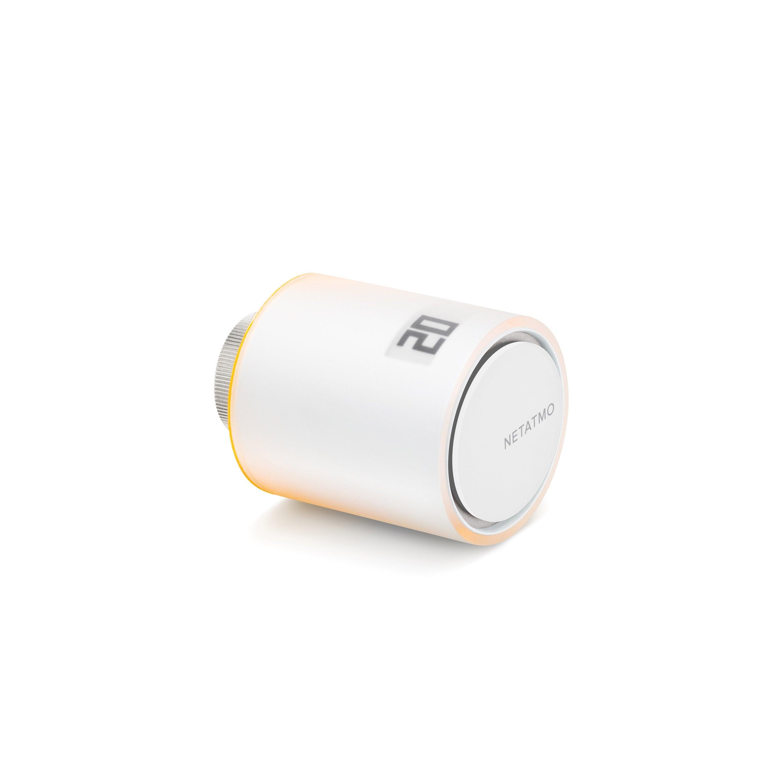 Tête de robinet thermostatique connectée BLUETOOTH programmable pour radiateur