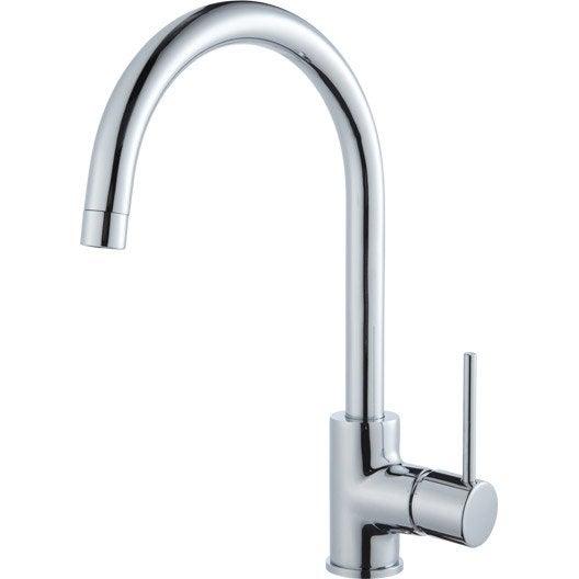 Delinia robinet latest robinet cuisine douchette for Leroy merlin robinet evier