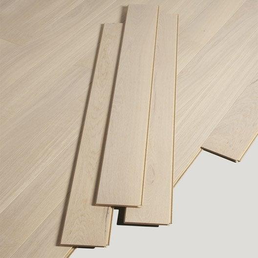 parquet contrecoll ch ne blanchi vitrifi l artens leroy merlin. Black Bedroom Furniture Sets. Home Design Ideas