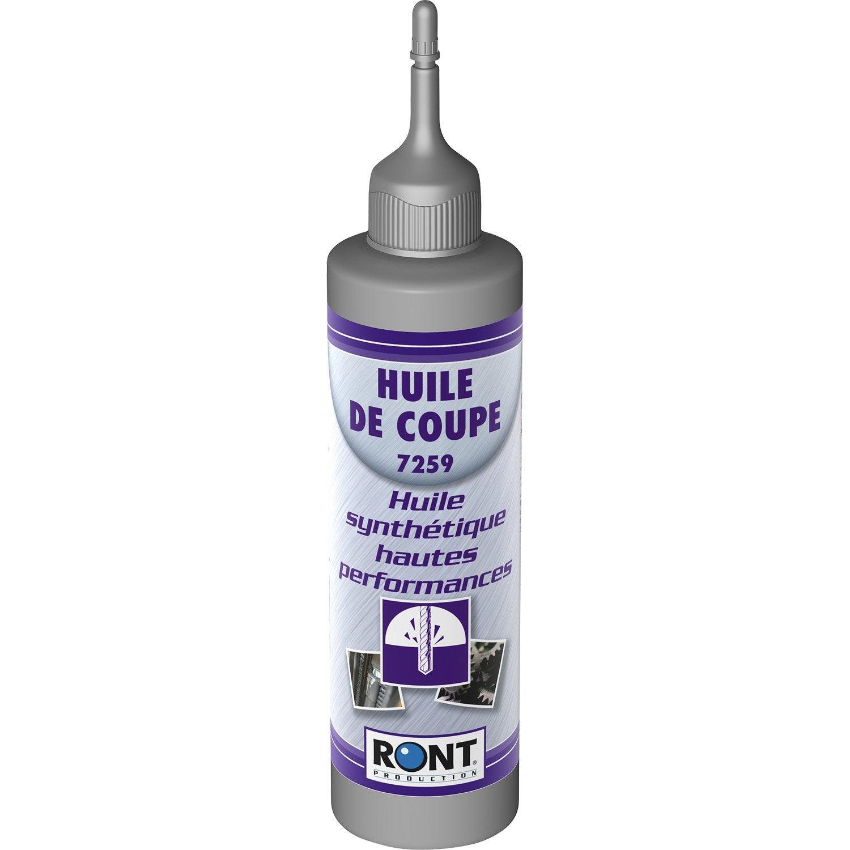 Huile De Coupe En Burette, 250 Ml RONT PRODUCTION