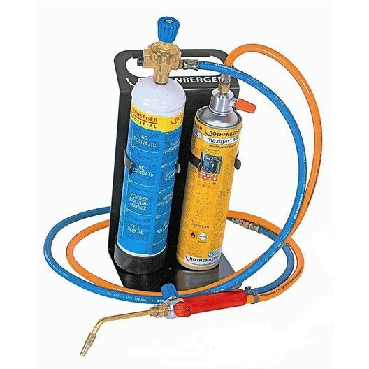 Poste souder bigaz rothenberger roxy eco kit plus 110 l leroy merlin - Poste a souder oxygene acetylene ...