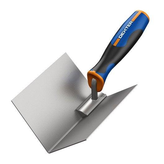 Truelle d'angle acier traité DEXTER, 10.7 cm