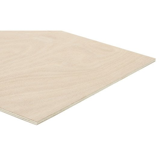 panneau contreplaqu okoum ext rieur ep 8 mm x x cm leroy merlin. Black Bedroom Furniture Sets. Home Design Ideas