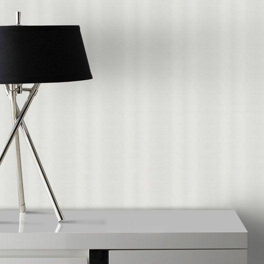 papier peint vinyle sur intiss poil de b te blanc. Black Bedroom Furniture Sets. Home Design Ideas