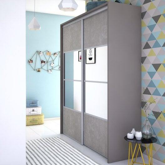 porte de placard standard porte de placard leroy merlin. Black Bedroom Furniture Sets. Home Design Ideas