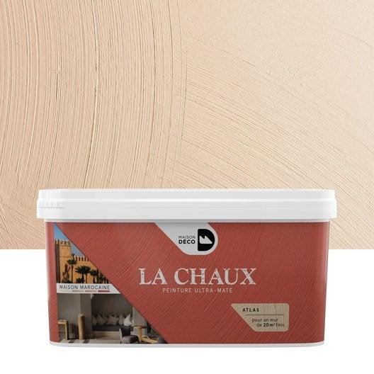 peinture effet la chaux maison marocaine maison deco atlas 2 5 l leroy merlin. Black Bedroom Furniture Sets. Home Design Ideas
