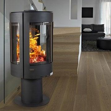 Poêle à bois ARTWOOD BBC Orio tri vision 2, 8 kW