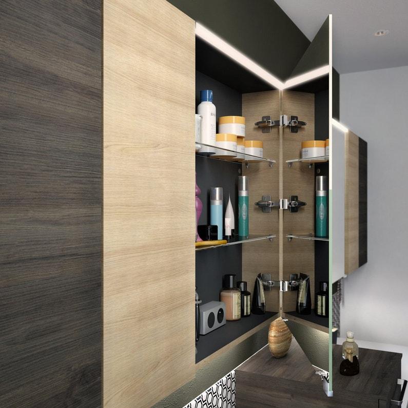 Des rangements dans le miroir de la salle de bains leroy for Pic de chix dans l miroir