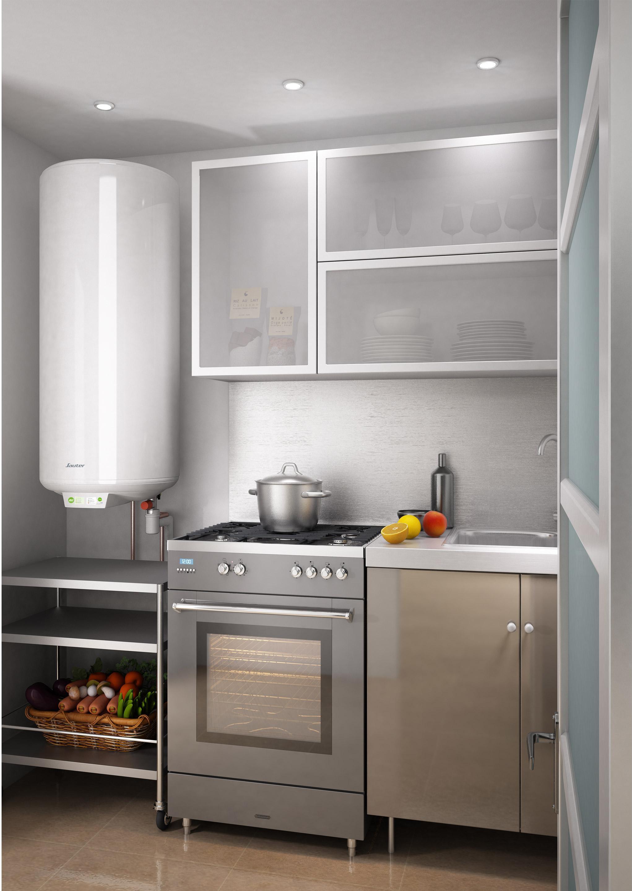 chauffe eau lectrique vertical mural sauter essentiel. Black Bedroom Furniture Sets. Home Design Ideas