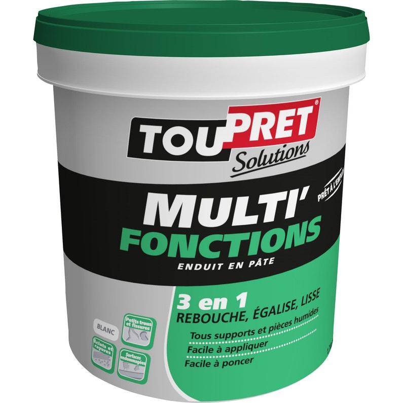Enduit Multifonction Pâte Blanc Toupret 125 Kg