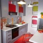Meuble table moderne table cuisine pour petit espace for Petite cuisine pratique