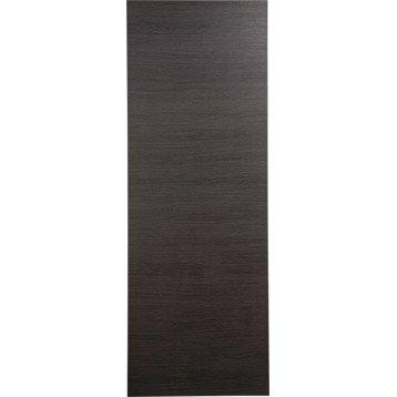 Porte coulissante revêtu décor chêne grisé Londres, 204 x 73 cm