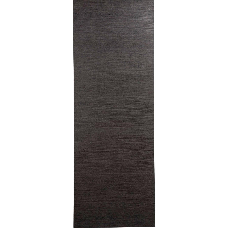 porte coulissante rev tu d cor ch ne gris londres 204 x. Black Bedroom Furniture Sets. Home Design Ideas