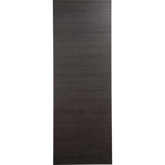 Porte coulissante rev tu d cor ch ne gris londres 204 x 73 cm leroy merlin - Porte interieure grise ...