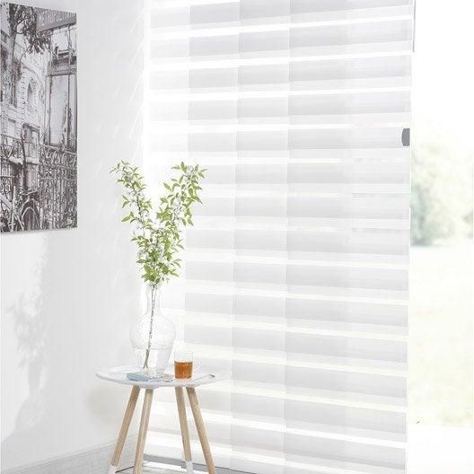 kit complet panneaux japonais rail inspire blanc enduit d coup cm leroy merlin. Black Bedroom Furniture Sets. Home Design Ideas
